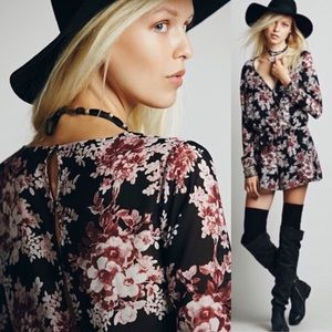 Free People floral romper - Small